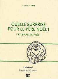 Sketches de Noël texte de théâtre de Ann ROCARD | leproscenium.com